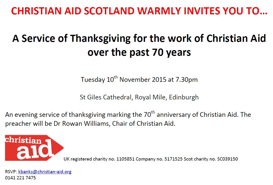 christian aid service of thanksgiving the scottish episcopal church christian aid service of thanksgiving